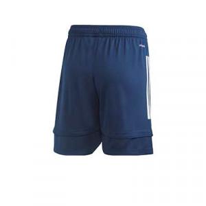 Short adidas Condivo 20 niño - Pantalón corto de entrenamiento de fútbol infantil adidas - azul marino - trasera