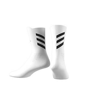Calcetines adidas Alphaskin Crew acolchados - Calcetines de entrenamiento adidas media caña acolchados - blancos