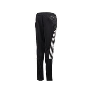 Pantalón adidas Tierro GK - Pantalón largo infantil de portero adidas - negro - trasera