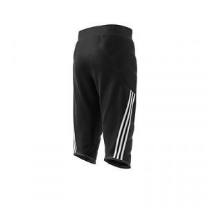 Pantalón portero adidas Tierro GK - Pantalón pirata acolchado infantil de portero adidas - negro - trasera