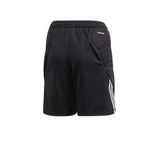 Short portero adidas Tierro GK niño - Pantalón corto infantil de portero adidas - negro - trasera