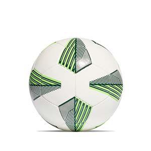 Balón adidas Tiro League HS talla 5 - Balón de fútbol adidas Team para césped artificial talla 5 - blanco, verde - trasera
