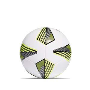 Balón adidas Tiro League talla 4 - Balón de fútbol adidas Team talla 5 - blanco y amarillo - trasera
