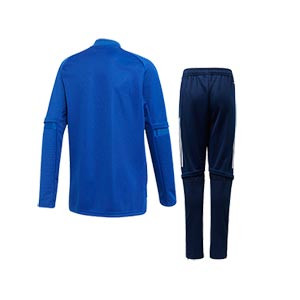 Chándal adidas niño Condivo 20 - Chándal de fútbol infantil adidas - azul, negro