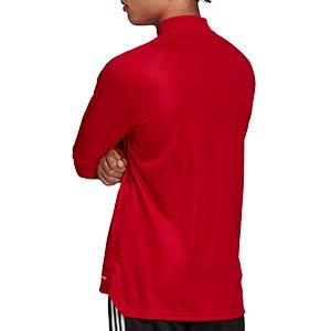Chaqueta adidas Condivo 20 - Chaqueta de entrenamiento de fútbol adidas - roja - trasera
