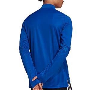 Chaqueta adidas Condivo 20 - Chaqueta de entrenamiento de fútbol adidas - azul - trasera