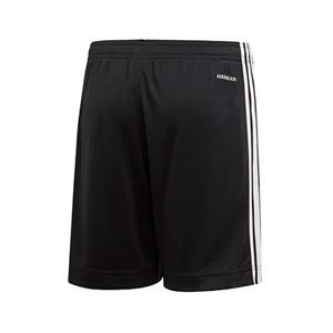 Short adidas entreno niño Alemania 2019 2020 - Pantalón corto infantil de entrenamiento selección alemana 2019 2020 - negro - trasera