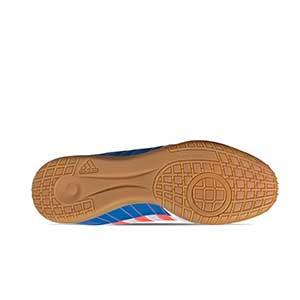 adidas Super Sala - Zapatillas de fútbol sala adidas suela lisa - blancas - suela