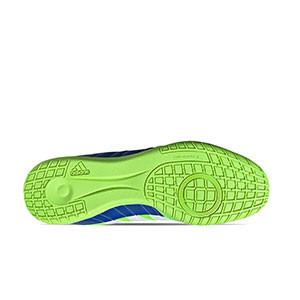 adidas Super Sala - Zapatillas de fútbol sala adidas suela lisa - verde flúor - suela