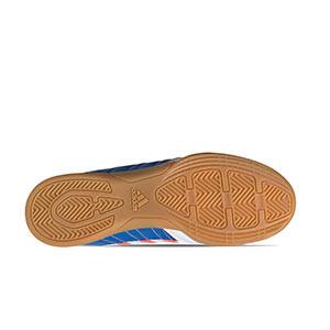 adidas Super Sala J - Zapatillas de fútbol sala para niño adidas suela lisa - blancas - suela
