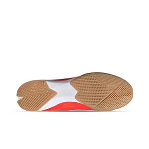 adidas X SPEEDFLOW.3 IN - Zapatillas de fútbol sala adidas suela lisa IN - rojas