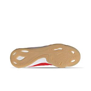 adidas Copa SENSE.3 IN Sala - Zapatillas de fútbol sala de piel adidas suela lisa IN - rojas