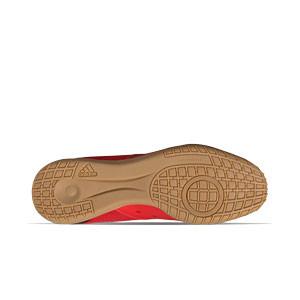 adidas Predator FREAK .4 IN Sala - Zapatillas de fútbol sala adidas suela lisa IN - rojas