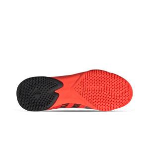 adidas Predator FREAK .3 LL IN J - Zapatillas de fútbol sala infantiles con tobillera adidas suela lisa IN - rojas