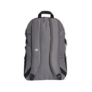 Mochila adidas Tiro - Mochila de deporte adidas (48,5 x 33 x 18 cm) - gris - trasera