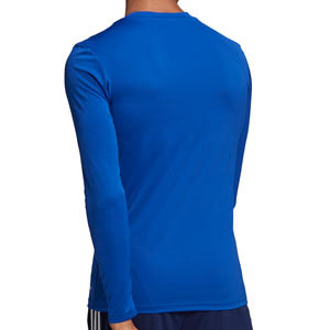 Camiseta adidas Team - Camiseta entrenamiento compresiva manga larga adidas Team - azul celeste