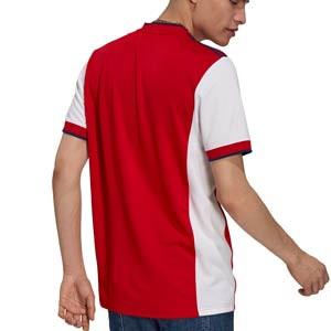 Camiseta adidas Arsenal 2021 2022 - Camiseta primera equipación adidas Arsenal FC 2021 2022 - roja y blanca