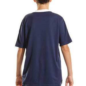 Camiseta adidas Tiro 21 niño - Camiseta de manga corta infantil adidas - azul marino - completa trasera
