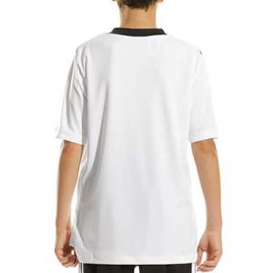 Camiseta adidas Tiro 21 niño - Camiseta de manga corta infantil adidas - blanca - completa trasera