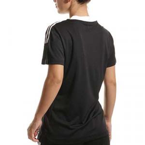 Camiseta adidas Tiro 21 mujer - Camiseta de manga corta de mujer adidas - negra - hover