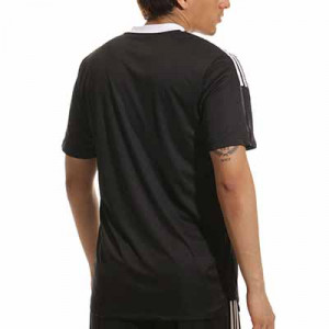 Camiseta adidas Tiro 21 - Camiseta de manga corta adidas - negra - completa trasera