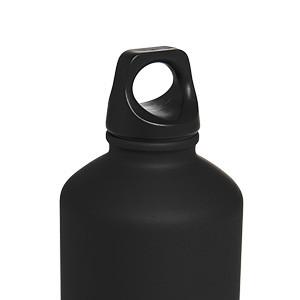 Botellín adidas Steel 750 ml - Botellín metálico de agua adidas de 750 ml - negro