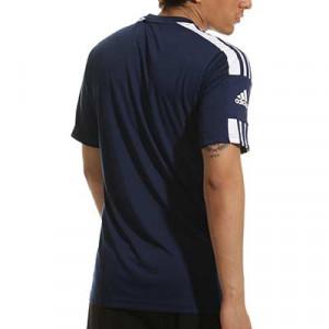 Camiseta adidas Squad 21 - Camiseta de manga corta adidas - azul marino - completa trasera
