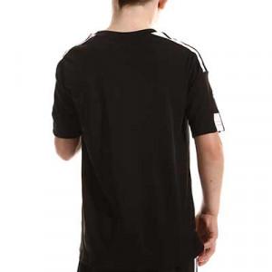 Camiseta adidas Squadra 21 niño - Camiseta de manga corta infantil adidas - negra - completa trasera