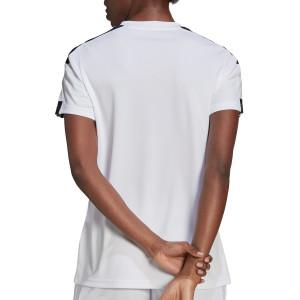 Camiseta adidas Squadra 21 mujer - Camiseta de manga corta de mujer adidas - blanca
