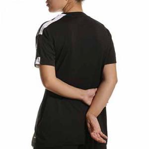 Camiseta adidas Squad 21 mujer - Camiseta de manga corta de mujer adidas - negra - hover