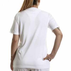 Camiseta adidas Squadra 21 mujer - Camiseta de manga corta de mujer adidas - blanca - completa trasera