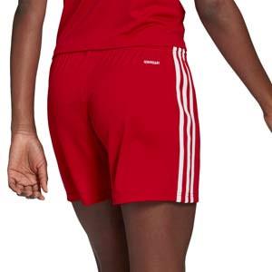Short adidas Squad 21 mujer - Pantalón corto de mujer adidas - rojo