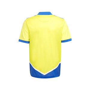 Camiseta adidas 3a Juventus niño 2021 2022 - Camiseta infantil de la tercera equipación adidas de la Juventus 2021 2022 - amarilla, azul