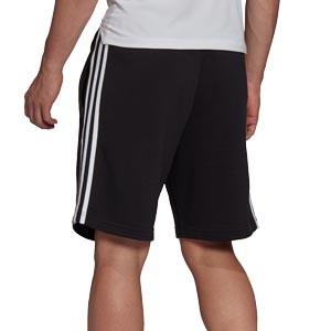 Short adidas Juventus 3 Stripes - Pantalón corto de paseo de algodón adidas de la Juventus - negro