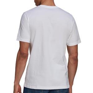 Camiseta adidas Juventus Street - Camiseta de manga corta de algodón adidas de la Juventus - blanca
