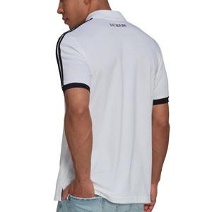 Polo adidas Juventus 3 Stripes - Polo de algodón adidas de la Juventus - blanco