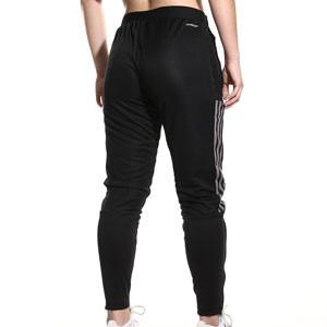 Pantalón adidas Juventus mujer entrenamiento - Pantalón largo de entrenamiento para mujer adidas de la Juventus - negro - completa trasera