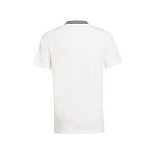 Camiseta adidas Juventus niño entrenamiento - Camiseta infantil de algodón de entrenamiento adidas de la Juventus - blanco hueso