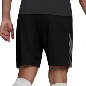 Short adidas Juventus entrenamiento - Pantalón corto entrenamiento adidas Juventus - negro - trasera