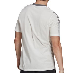 Camiseta adidas Juventus entrenamiento - Camiseta de algodón de entrenamiento adidas de la Juventus - blanco hueso