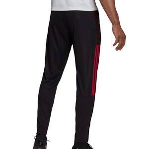 Pantalón adidas United entrenamiento - Pantalón largo de entrenamiento adidas del Manchester United - negro