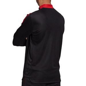 Sudadera adidas United entrenamiento - Sudadera de entrenamiento adidas del Manchester United - negra
