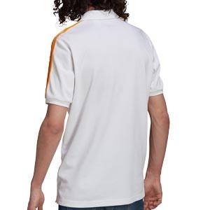 Polo adidas Real Madrid 3 Stripes - Polo adidas del Real Madrid CF - blanco