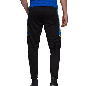Pantalón adidas United entrenamiento UCL - Pantalón largo de entrenamiento de la Champions League adidas del Manchester United - negro