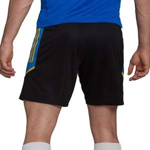 Short adidas United entrenamiento UCL - Pantalón corto de entrenamiento de la Champions League adidas del Manchester United - negro