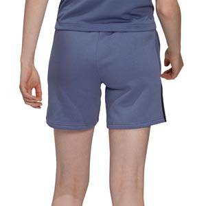 Short adidas Tiro mujer - Pantalón corto de entrenamiento de fútbol para mujer adidas de la colección Tiro - lila azulado