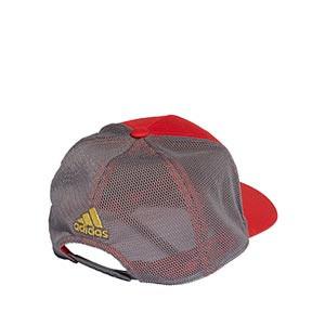 Gorra adidas Salah - Gorra adidas de Mohamed Salah - roja, gris