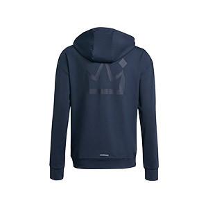 Chaqueta adidas Salah niño Hoodie - Chaqueta de chándal con capucha infantil adidas de Mohamed Salah - azul marino