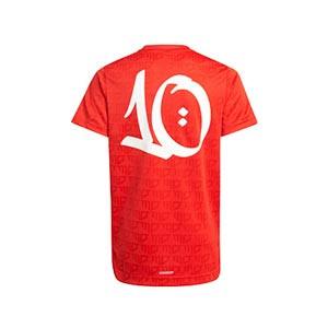 Camiseta adidas Salah niño - Camiseta infantil adidas de Mohamed Salah - roja