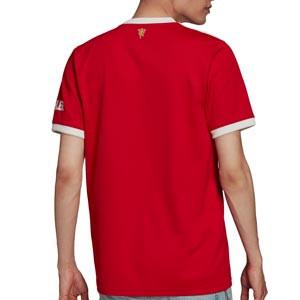 Camiseta adidas United 2021 2022 - Camiseta primera equipación adidas del Manchester United 2021 2022 - roja